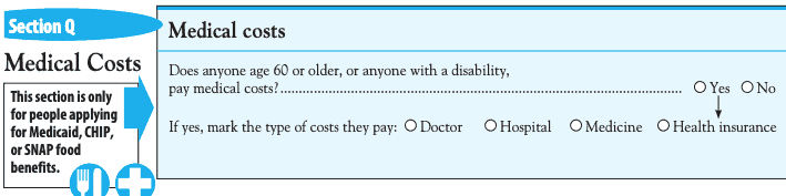 Medical Cost Deductions Food Stamps